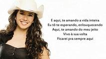 Paula Fernandes - Cicatriz (Letra)