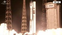 Launch of Vega Rocket with Mohammed VI Satellite for Morocco