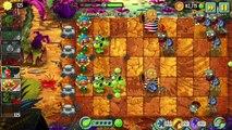 PVZ 2 Free vs Premium Plants vs Zombies 2 APPLE MORTAR Vs THREEPEATER Gameplay Primal PVZ 2 Fight
