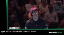 Zap Sport 8 novembre : Le match complètement fou entre Roger Federer et Andy Murray (Vidéo)