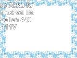 Green Cell Standard Serie Laptop Akku für Lenovo ThinkPad Edge E320 6 Zellen 4400mAh