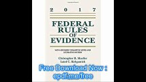 Federal Rules of Evidence With Advisory Committee Notes and Legislative History, 2017 Statutory Supplement (Supplements)