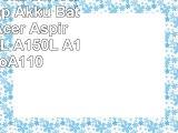 Mitsuru 4800mAh Notebook Laptop Akku Batterie für Acer Aspire One A110L A150L A150X