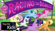 My Little Pony Friendship is Magic Full Episodes Kids Games TV Funny Games Racing Equestria Girls