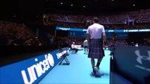 Exhibition - Glasgow 2017 - Roger Federer en kilt et Murray ont fait le show à Glasgow