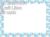 Akku kompatibel mit PACKARD BELL EASYNOTE LM85JN08 mit LiIon 111V 4400 mAh