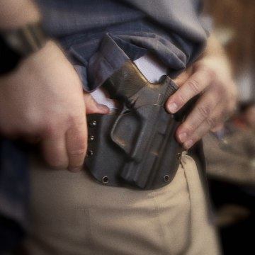 "Top gun expert debunks Trump's ""good guy with a gun"" myth [Mic Archives]"