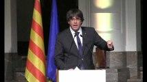 """Catalogne : """"C'est ça l'Europe que vous proposez aux citoyens ?"""" Le coup de gueule de Puigdemont"""