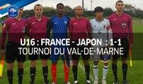 U16, Tournoi du Val-de-Marne : France-Japon (1-1), le résumé