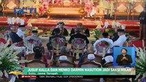 Jusuf Kalla dan Menko Darmin Nasution Jadi Saksi Nikah Kahiyang-Bobby