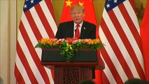 Donald Trump says trade with China has been 'Unfair' in joint Xi speech