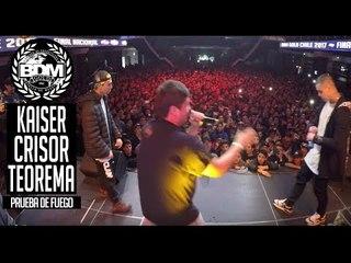 BDM Gold Chile 2017 / Prueba de Fuego / KAISER vs CRISOR vs TEOREMA