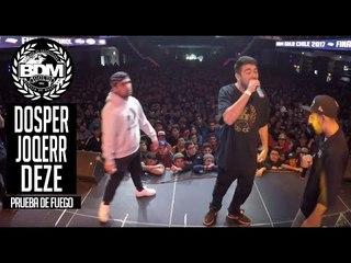 BDM Gold Chile 2017 / Prueba de Fuego / JOQERR vs DEZE vs DOSPERZONAS