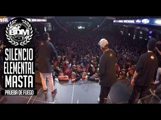 BDM Gold Chile 2017 / Prueba de Fuego / SILENCIO vs ELEMENTAL vs MASTA
