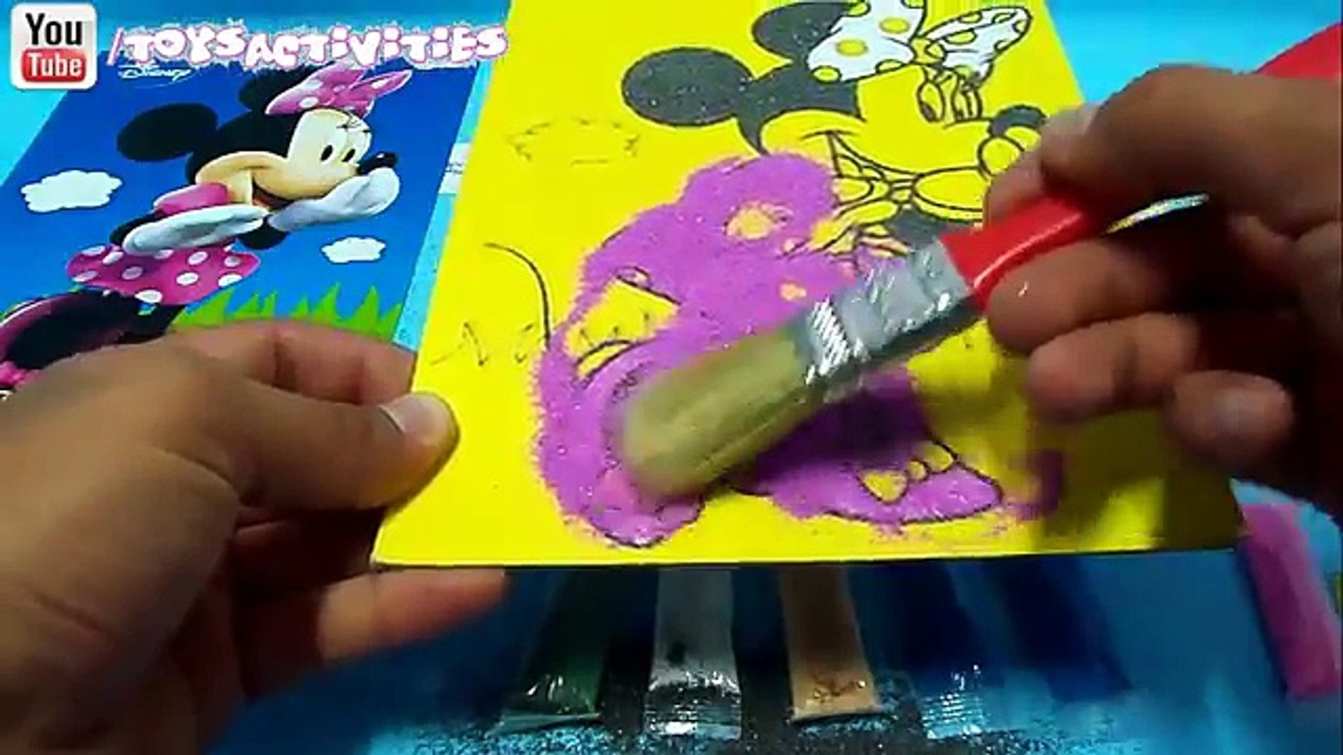 Minnie Mouse Bowtique Kids Movie Sand Painting Preschool Activity