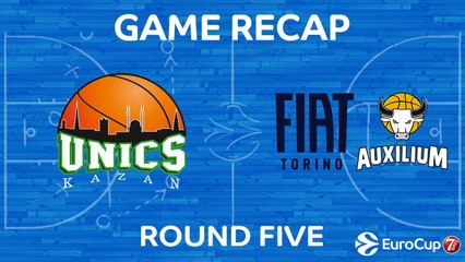7Days EuroCup Highlights Regular Season, Round 5: UNICS 101-93 Fiat Turin