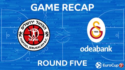 7Days EuroCup Highlights Regular Season, Round 5: Jerusalem 81-91 Galatasaray