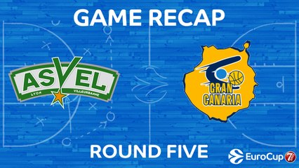 7Days EuroCup Highlights Regular Season, Round 5: ASVEL 68-84 Gran Canaria