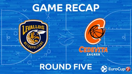 7Days EuroCup Highlights Regular Season, Round 5: Levallois 91-81 Cedevita