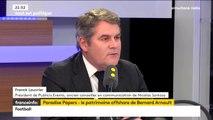 """""""Paradise papers"""" : """"On jette des noms en pâture"""", dénonce Franck Louvrier"""