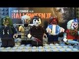 custom lego Halloween minifigures (rob zombie remake versions)