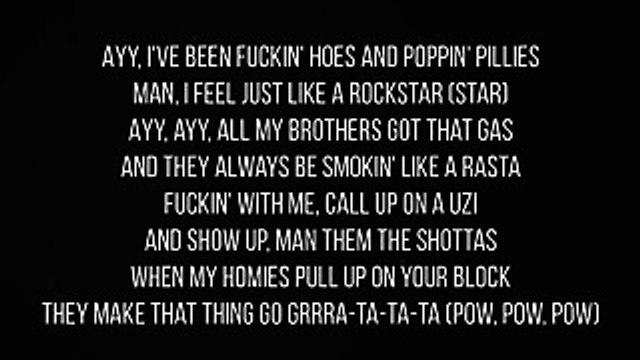 Post Malone - Rockstar FT. 21 Savage [LYRICS]