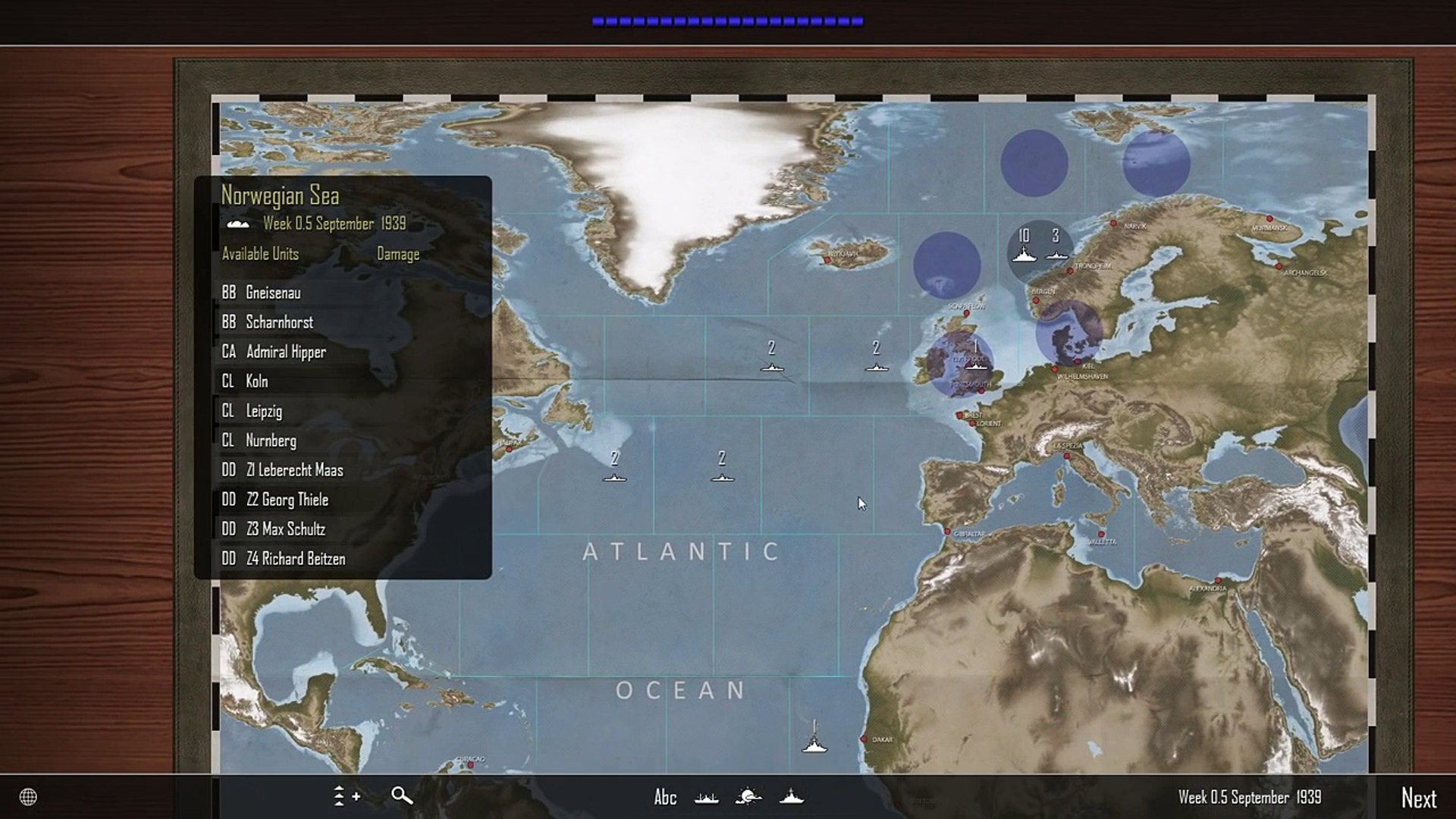 Atlantic Fleet | Lets Play Germany - 01 Battle of the Atlantic