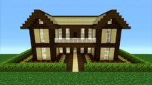 Minecraft Tutorial How To Make A Wooden House 11 Video