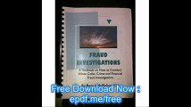 Fraud Investigations A Textbook on How to Conduct White Collar Crime and Financial Fraud Investigations