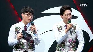 [SKT T1 vs. 삼성 인터뷰] 뱅이 진을 고른이유 및 석양 드립
