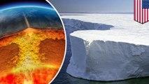Heat source detected under Antarctic ice sheet