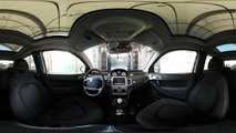 360° VR VIDEO - INSIDE CARWASH SPORTCAR - LANCIA YSILON TOUR - VIRTUAL REALITY _ CAR WASH-MydNjEvCp6w