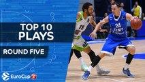 7DAYS EuroCup Regular Season, Round 5: Top 10 Plays