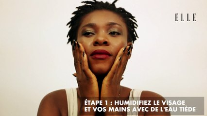 #ELLEcrashtest : Démaquillage au savon noir africain Oyemi
