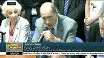 Argentinos se movilizan hasta el Congreso en defensa de la democracia