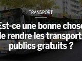 Châteauroux, Niort, Aubagne et environs Dunkerque. Depuis les années 70, une vingtaine de villes ont décidé de rendre leurs transports publics gratuits. L'objectif: les rendre plus attractifs. Mais alors, pourquoi ne pas généraliser la mesure? Une première vue, elle parait séduisante. Avec la gratuité, les voyageurs prennent en charge les transports en commun et la ville économise sur la fabrication des billets ou le salaire des contrôleurs.  Pourtant, si toutes les villes ne passent pas au gratuit, c'est qu'il ya aussi des inconvénients. D'abord, les transports gratuits ne sont pas gratuits si ça. Sans billetterie, les villes trouver l'argent pour leur réseau. Pour le paiement des entreprises, «le versement transport». Mais comme cette taxe à un plafond, il faut augmenter les impôts locaux, comme la taxe d'habitation ou la taxe foncière, pour compenser le manque à gagner de la gratuité.   Autre inconvénient: rendre les transports gratuits ne diminue pas forcément le nombre de voitures sur les routes. Ce sont en effet souvent les habitués qui prennent encore plus les transports en commun. Les automobilistes eux-mêmes d'utiliser leur voiture.  Pour rendre les transports gratuits attractifs, il faut donner moins envie d'utiliser la voiture. Commentaire? En mettant en place des péages urbains, en augmentant le stationnement payant ou en valorisant le covoiturage.
