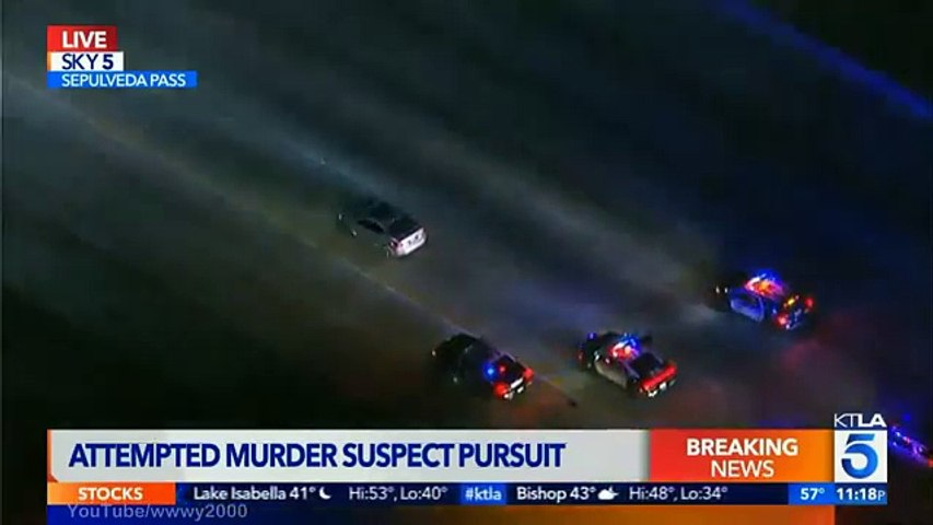 Los Angeles Police Chase (January 09, 2017)