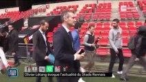 09/11/17 : Premiers mots d'Olivier Létang au Stade Rennais