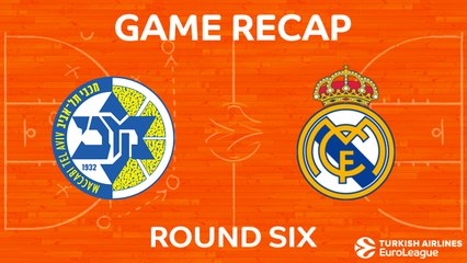 EuroLeague 2017-18 Highlights Regular Season Round 6 video: Maccabi 90-83 Madrid