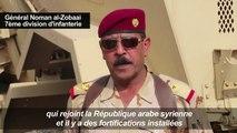 Les forces irakiennes en patrouille à la frontière avec la Syrie