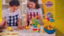 Pâte à modeler Play Doh la Fabrique de Pâtes Kitchen Creations Spaghettis et Raviolis en français