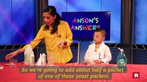Anson Wong, boy genius, makes elephant toohpaste | Anson's Answers