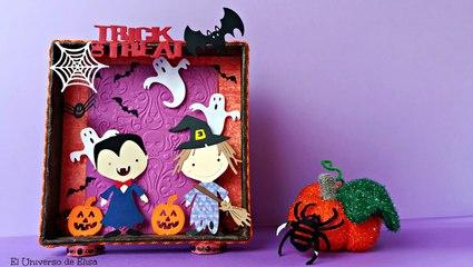 Cómo Hacer una Decoración para Halloween con la Big Shot, Tutorial Big Shot en Español