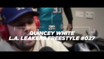 """Quincey White fka DUBB """"The Watcher"""" Freestyle @ Power 106 """"The Liftoff"""" with DJ Sour Milk & Justin Credible, 11-07-2017"""