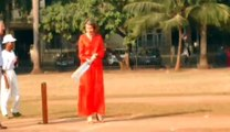 La reine Mathilde joue au cricket