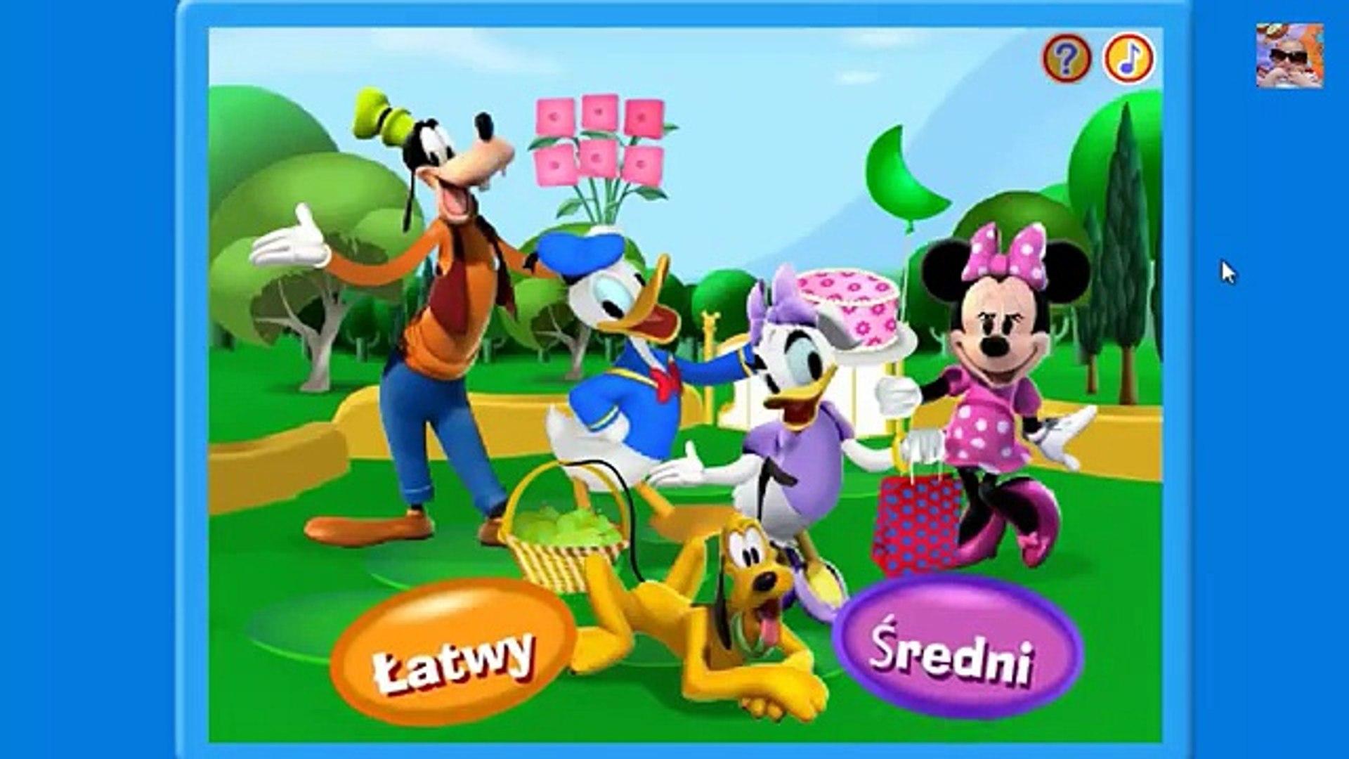 Klub Przyjaciół Myszki Miki - nauka, gry dla dzieci- Mickey Mouse Clubhouse