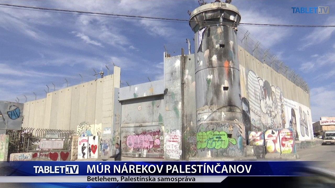 Aj Palestínčania majú svoj múr nárekov