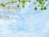 Port Designs Manille Universal Premium Look Hülle Folio Case Cover für 10 Zoll Tablets