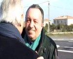 Eugène Caselli et Jean-Noël Guerini à Châteauneuf-les-Martigues