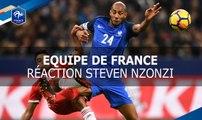 """Steven Nzonzi : """"Une belle soirée"""""""